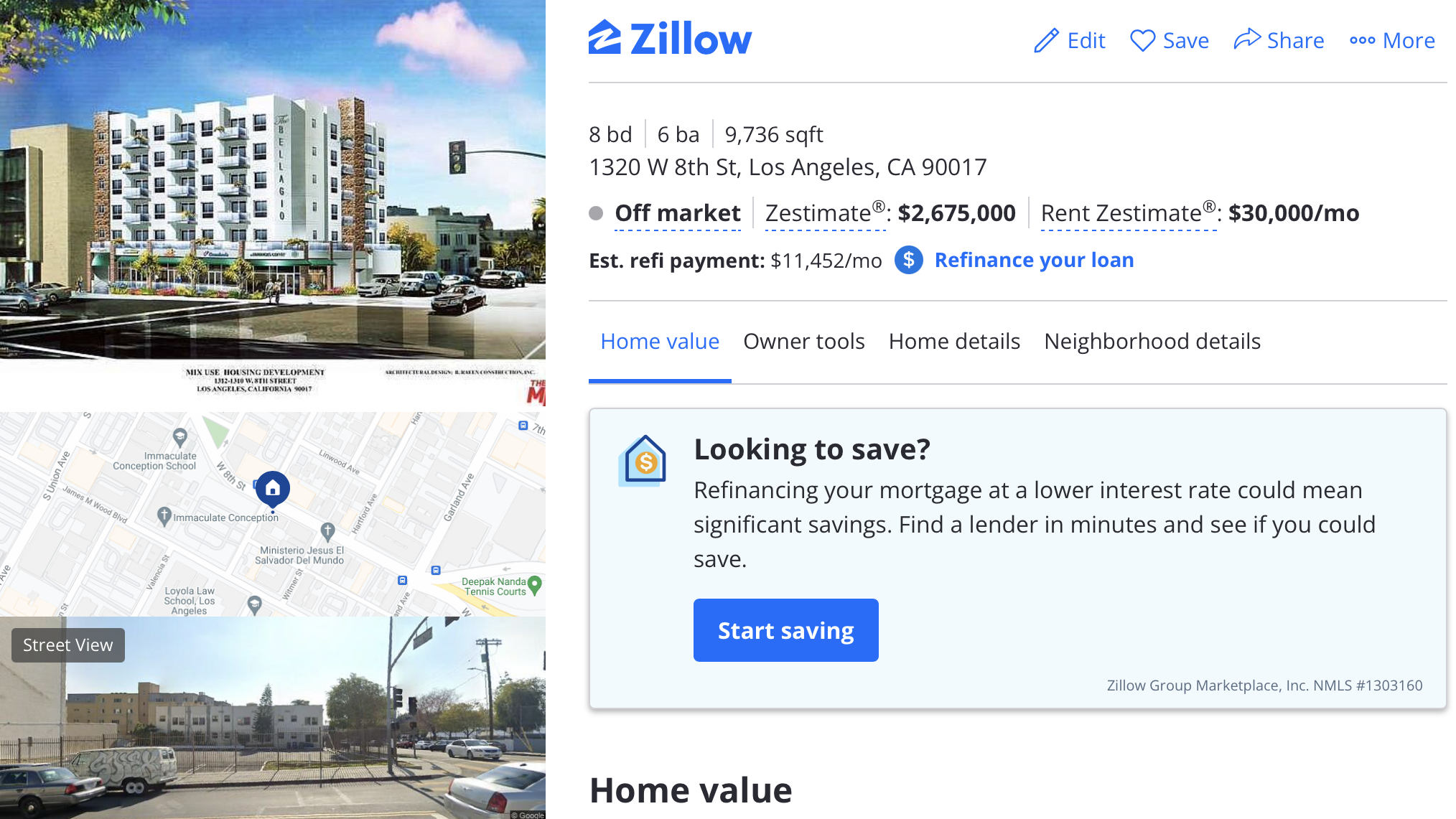 Zillow 1320w8th