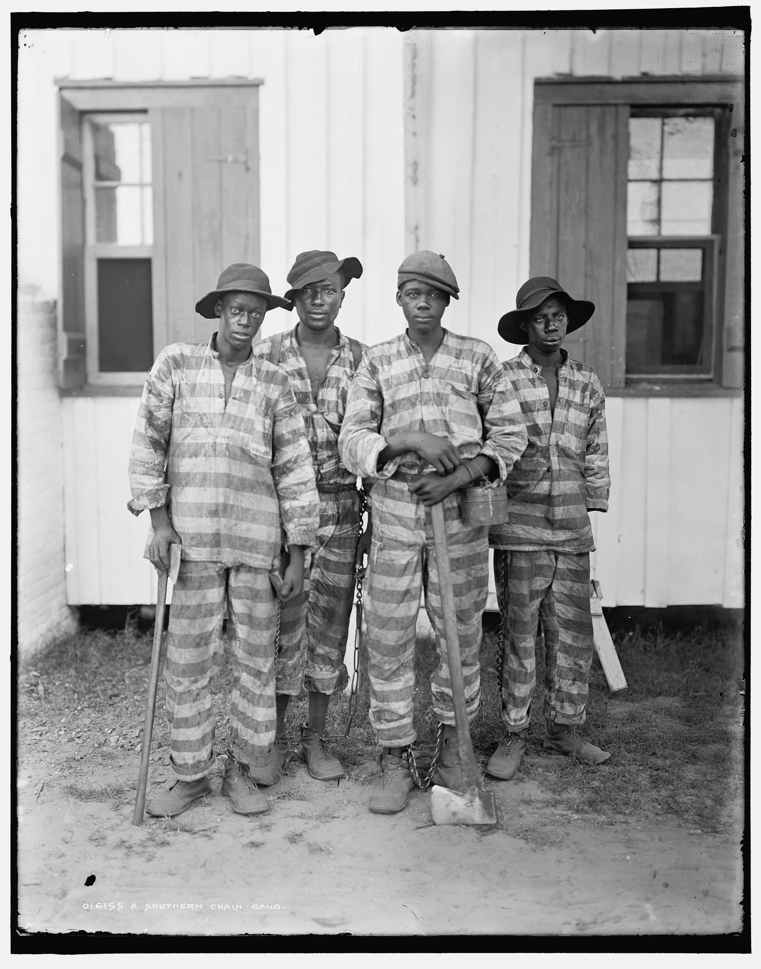 A Southern chain gang. (Detroit Publishing Company photograph collection, Library of Congress)