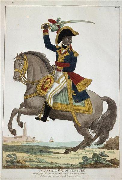 407px Toussaint Louverture, Chef Des Insurgés De Saint Domingue